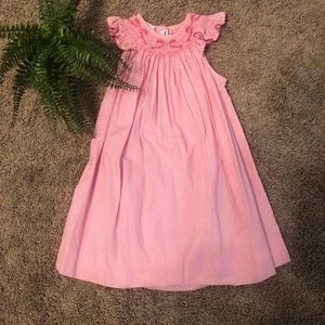 Other - Smocked pink bow dress